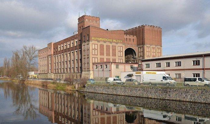Winternitzovy mlýny v Pardubicích od architekta Josefa Gočára