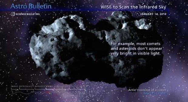 Lovec asteroidů a hnědých trpaslíků
