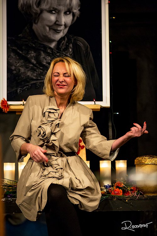 Herečka Ivana Wojtylová