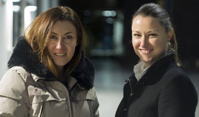 Organizátorky soutěže Pavlína Zychová a Jana Hodboďová