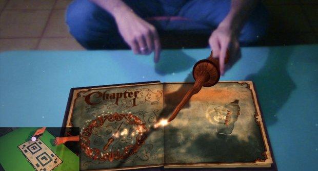 Wonderbook: Kouzelnická škola v obýváku