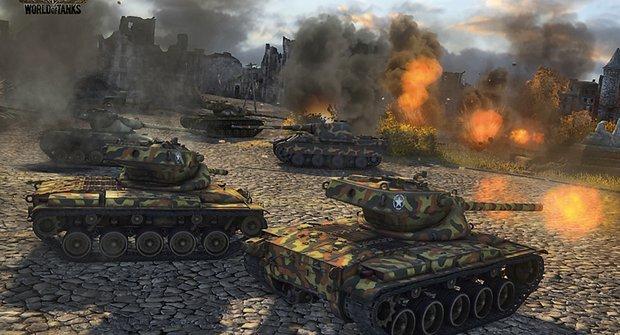 Tanky za humny: Vyjeďte do boje ve válečné bestii!