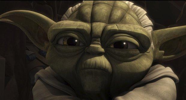 Yoda a jeho zásadní objev v ukázce z konce seriálu Star Wars: Klonové války