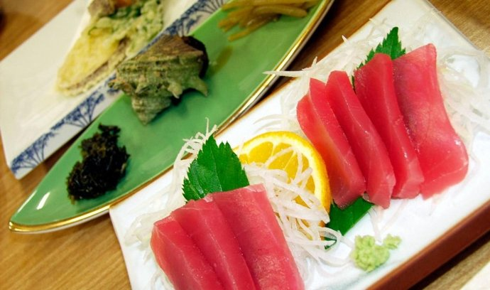 Z japonské kuchyně, ilustrační foto
