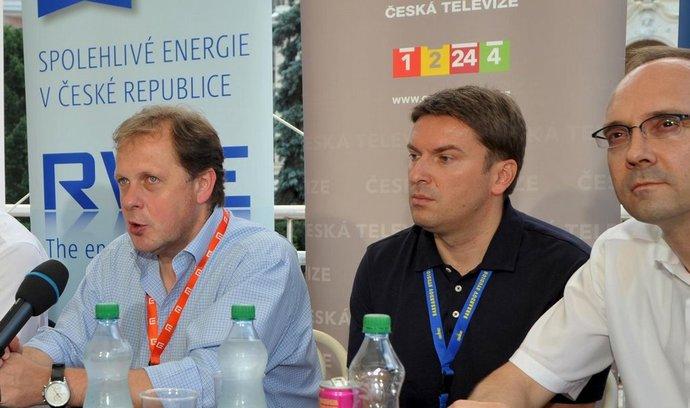 Z tiskové konference o podpoře českého filmu
