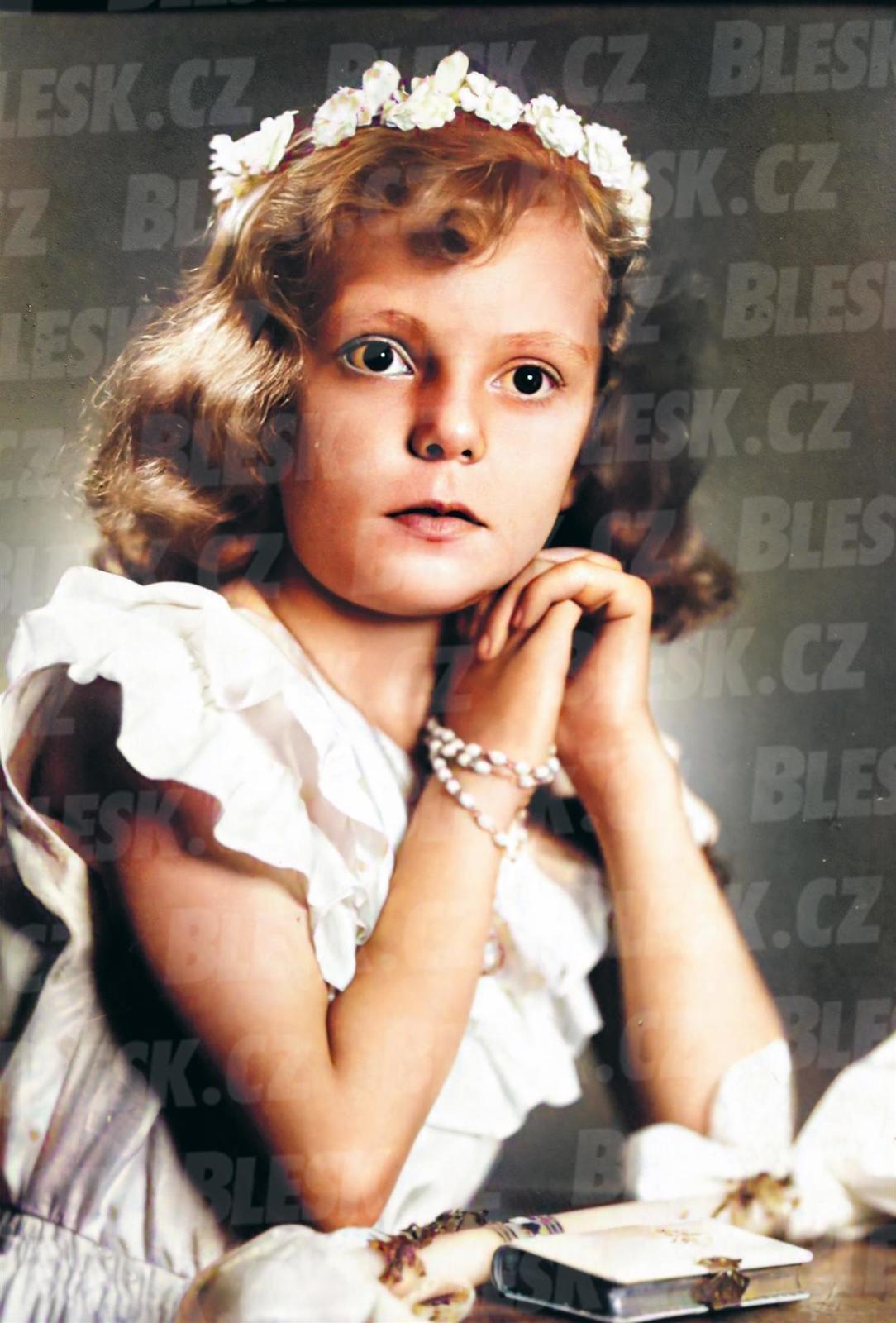 Kolorované snímky z archivu Hany Zagorové