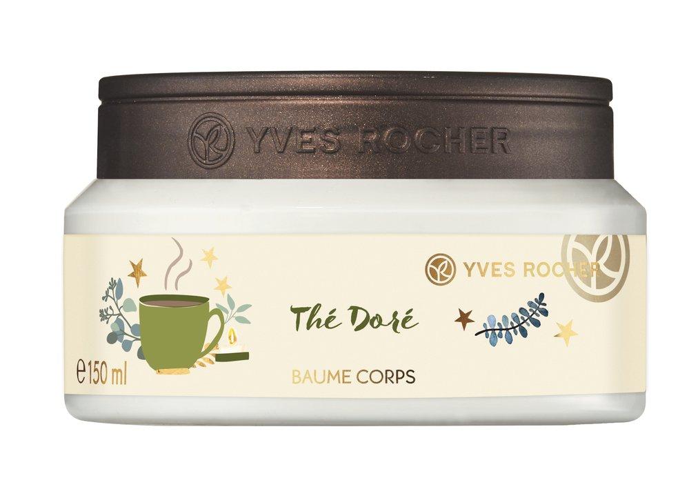 Tělový balzám Golden Tea, Yves Rocher, 319 Kč