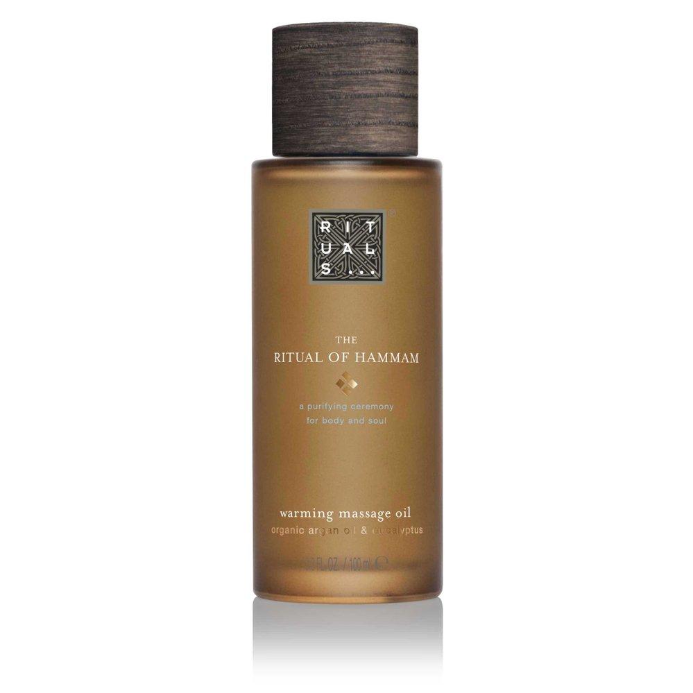 Prohřívající masážní olej Ritual of Hammam Warming Massage Oil, Rituals, 395 Kč