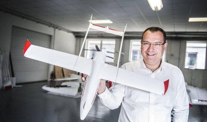 Zakladatel Primoco UAV Ladislav Semetkovský