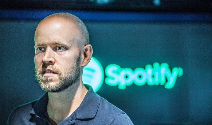 zakladatel Spotify Daniel Ek