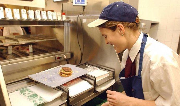 Zaměstnanci McDonald's