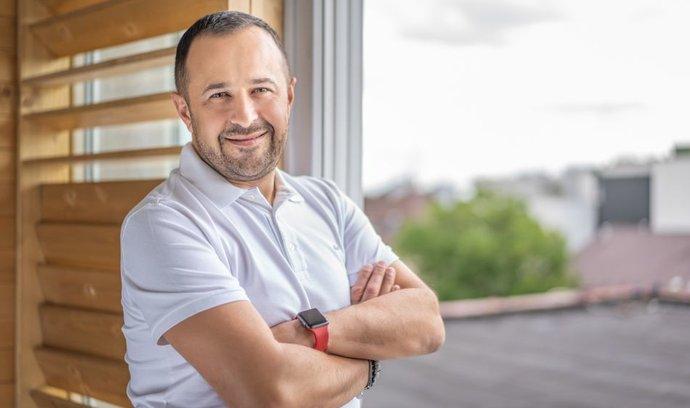 Generální ředitel společnosti Up Česká republika, Stéphane Nicoletti