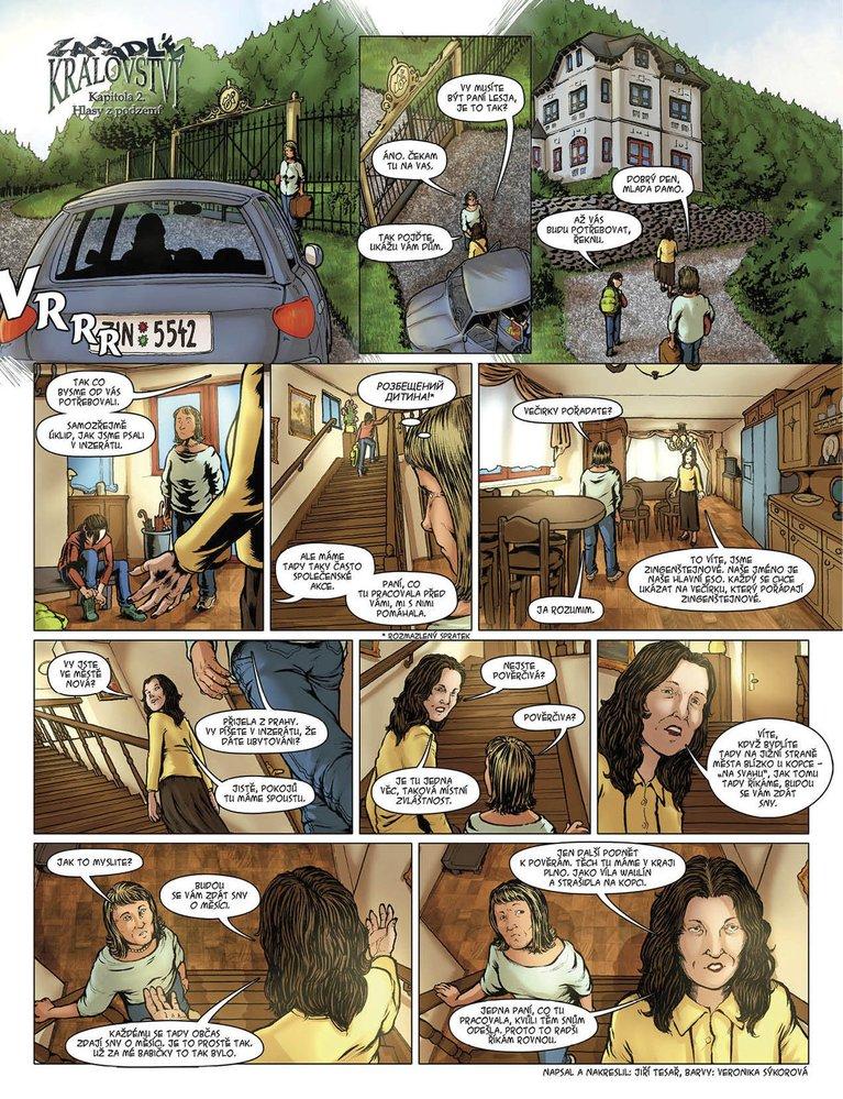Zapadlé království 2: Hlasy z podzemí