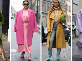 Zapomeňte na černou, letos si pořiďte barevný kabát: Bude slušet i boubelkám