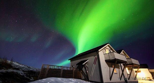 Polární záře pěkně v teple: Ušetřete si cestu na sever