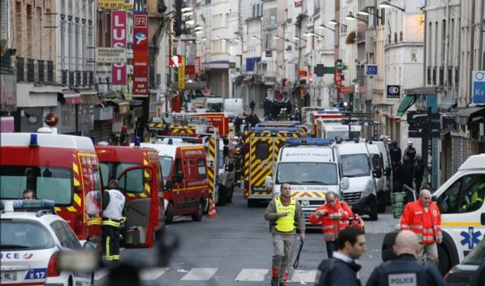 Zásah proti teroristům v Paříži, ilustrační foto