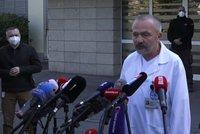 Zemanův lékař: Za hospitalizací jsou komplikace provázející jeho onemocnění. Co dalšího řekl?