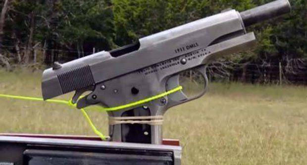 Takhle střílí zbraň vytištěná na 3D tiskárně