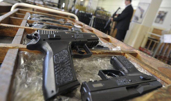 Vývoz českých zbraní, ilustrační foto