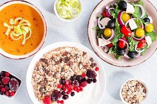 Dietní jídla na celý den: Sestavte si vlastní zdravé menu