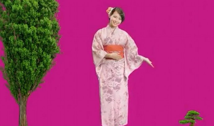 Ze spotu na Japonskou půjčku od Home Creditu