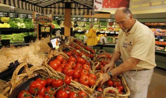 zelenina, supermarkety, potraviny