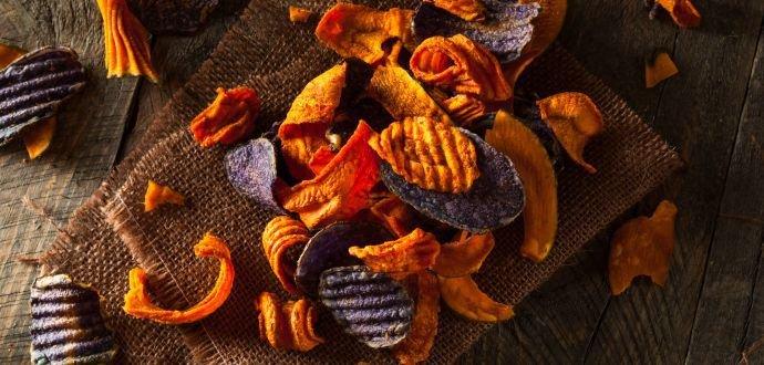 Domácí zeleninové chipsy 4× jinak