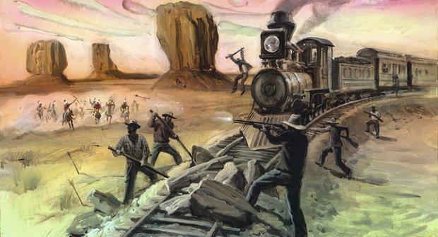 Železnice přes Ameriku: koleje přinesly pokrok a zničily indiány