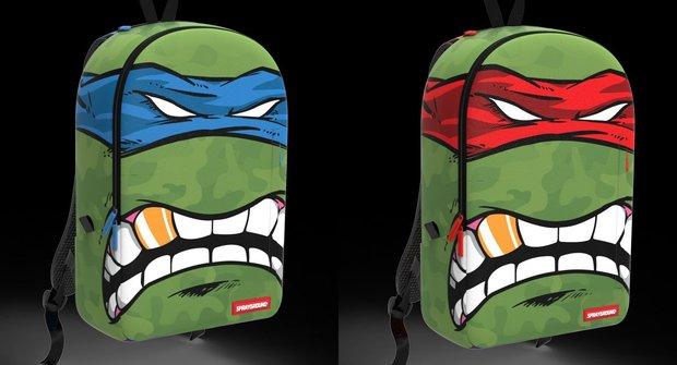 Soutěžte o batohy od Želv Ninja