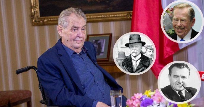 Historik Michal Macháček o zdraví našich prezidentů: Za totality Hrad pravidelně informoval