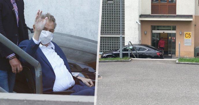 Zeman opustil nemocnici. Z vyčerpání a dehydratace se léčil 9 dní, hned ho čekají schůzky