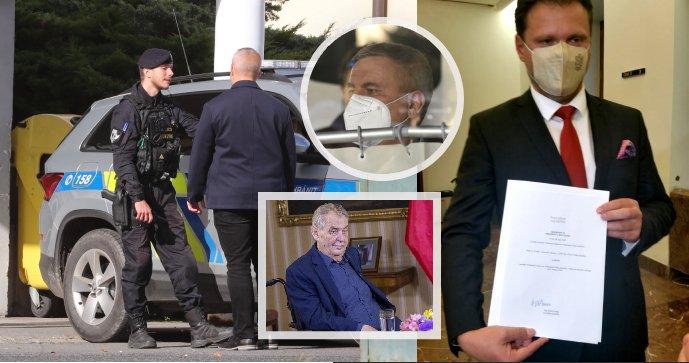 Nemocnice po Vondráčkově návštěvě povolala policii! Kvůli Zemanovu stavu padlo trestní oznámení