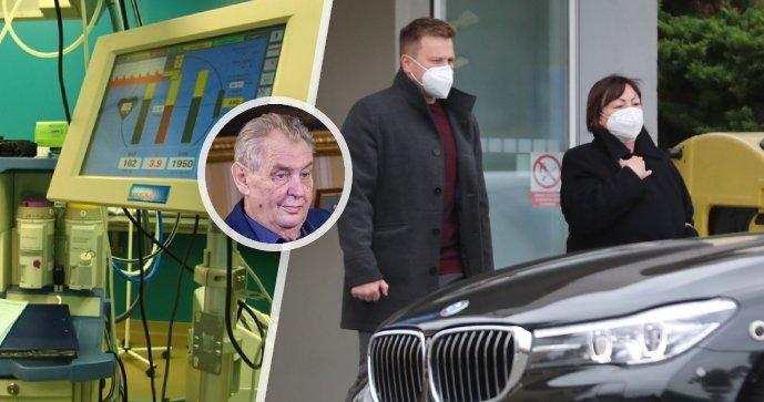 ONLINE: Zeman není schopen pracovat a prognóza je nejistá, citoval Vystrčil z odpovědi nemocnice