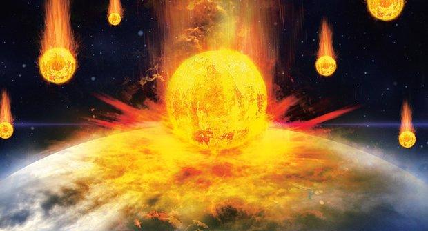 Na sluneční soustavu se řítí hvězda