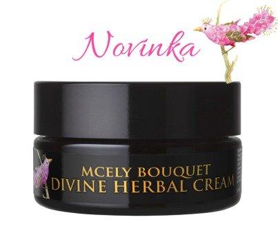Divine Herbal Cream, 50 ml, 2990 Kč, e-shop Chateau Mcely, ručně míchaný božský krém z nejvzácnějších rostlinných extraktů, esencí a vitamínů