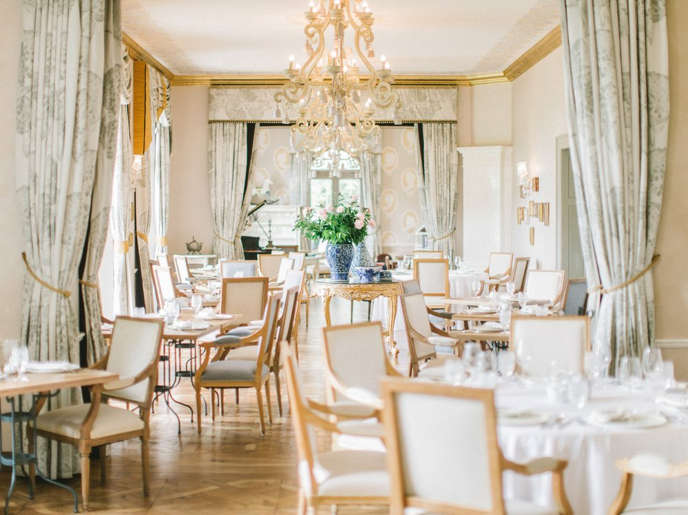 Piano Nobile Restaurant  Chateau Mcely