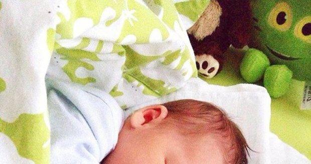 Novorozený syn Markéty z pořadu Zhubni s úsměvem.