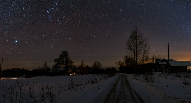 Vánoční nadílka z vesmíru. Pozorujte hvězdné nebe