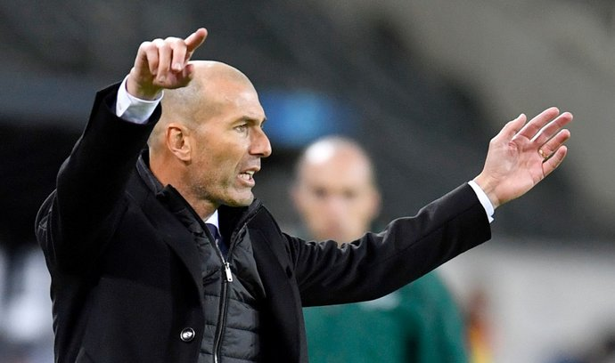 ZinédineZidaneuž není trenérem fotbalistů Realu Madrid