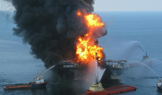 Zkáza Deepwater Horizon v roce 2010