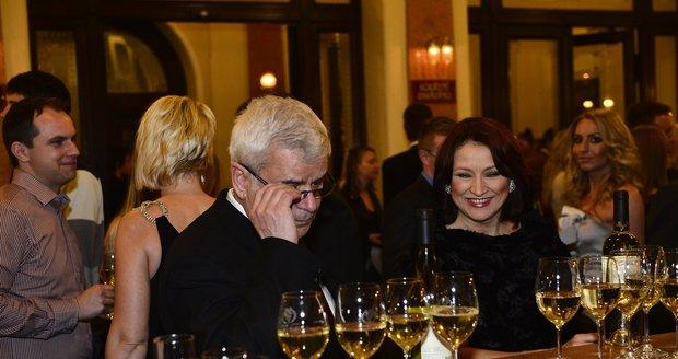 Zlata Adamovská (54) a Petr Štěpánek (55) se seznámili při práci na seriálu Ordinace v růžové zahradě.