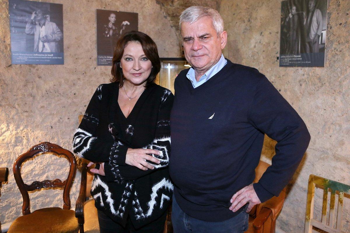Novomanželé Zlata Adamovská a Petr Štěpánek jsou zatím šťastní.