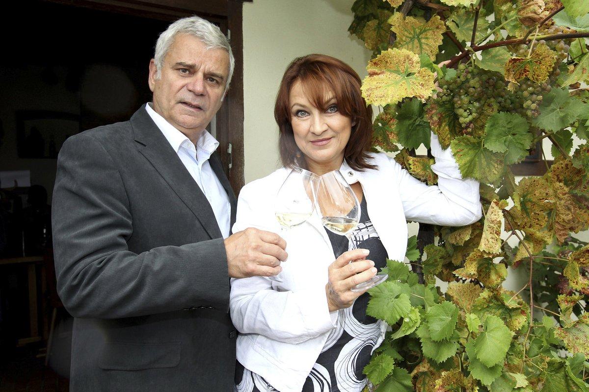 Pro Zlatu Adamovskou (57) stejně tak jako pro jejího seriálového kolegu z Ordinace v růžové zahradě to byla druhá svatba.