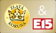 Zlata koruna E15 pro web