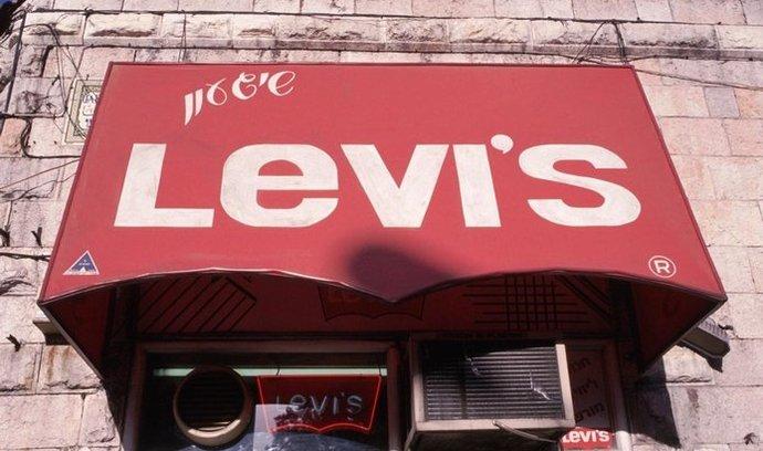 Značkový obchod Levis, ilustrační foto
