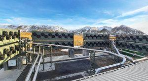 Nebeská sodovka pro zchlazení planety: Obří vysavač míchá oxid uhličitý…