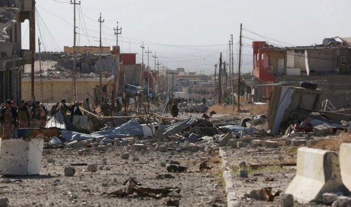 Zničený severoirácký Sindžár