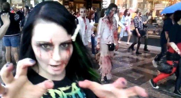 Pražský Zombie Walk: Mrtví kráčejí mezi námi!