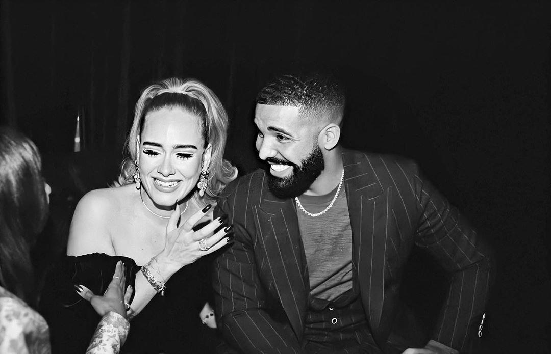 Zpěvačka Adele s rapperem