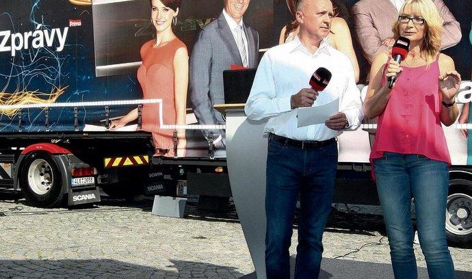 Zpravodajský kamion TV Prima